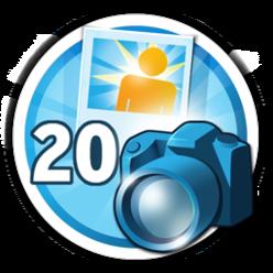 Envie 20 fotos para mostrar informações interessante de locais para conquistar esta medalha