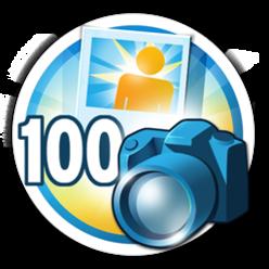 Desafio para essa medalha: será que você chega até sua foto de número 100? 1, 2, 3... valendo!