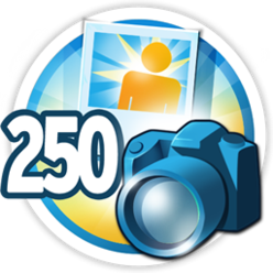 250 fotos