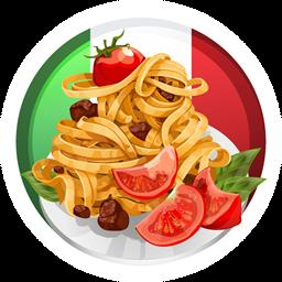 Medalhas do apontador italiana for Restaurantes de comida italiana
